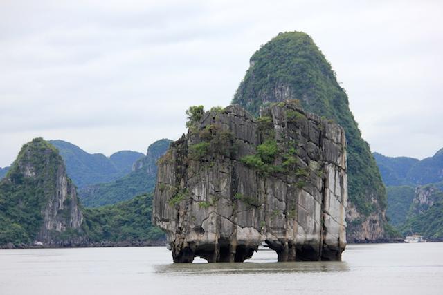 Islet of Ha Long Bay Vietnam