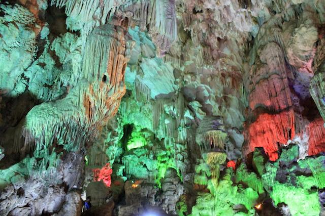 Cave at Ha Long Bay Vietnam