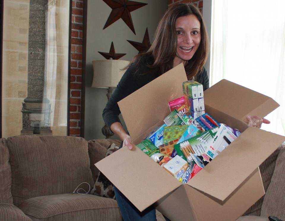 Annette White Sending a Soldier Care Package