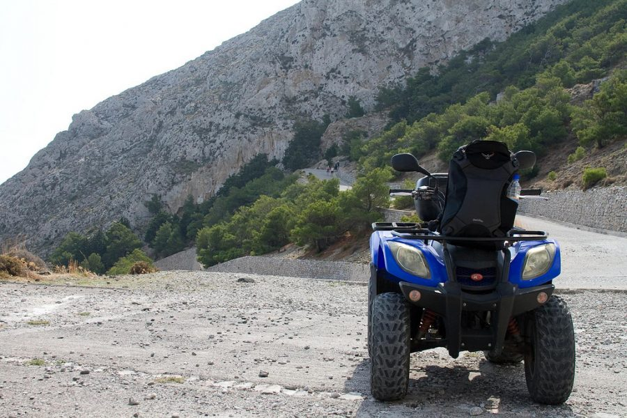 Things to do in Santorini: Drive a Quad