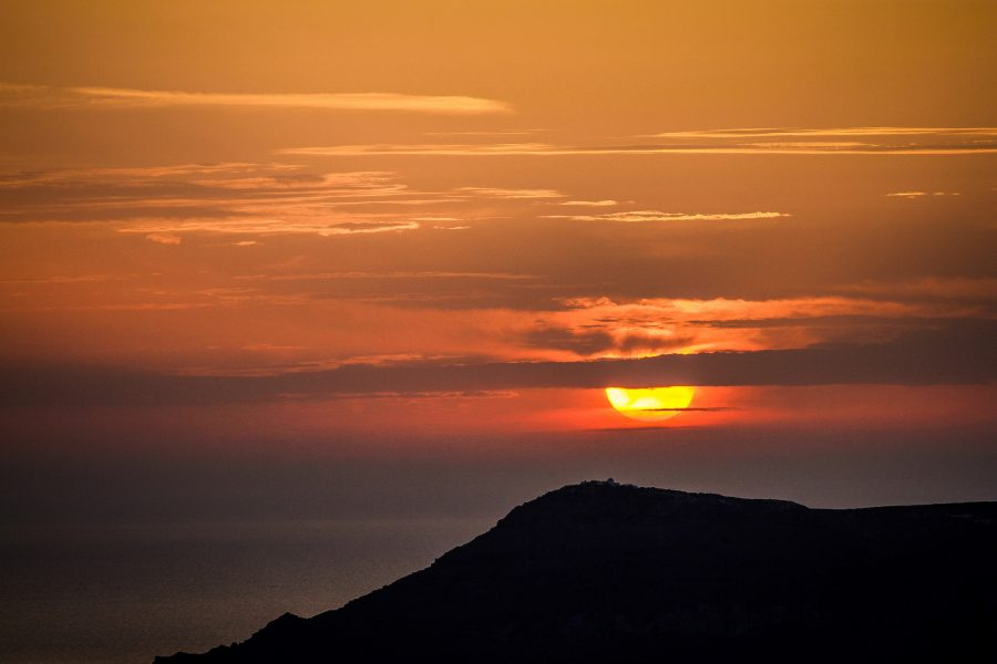Things to do in Santorini: See a Santorini Sunset