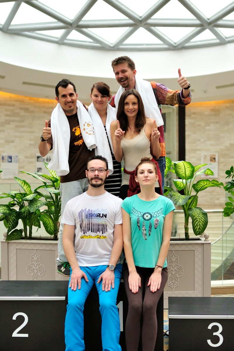 Travel Bloggers at Stejarii Country Club in Bucharest, Romania