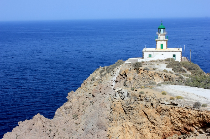 The Lighthouse in Santorini Greece