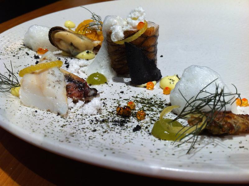 Atelier Crenn Molecular Gastronomy restaurant in San Francisco