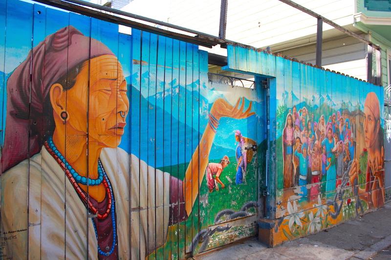 Balmy Street Murals San Francisco