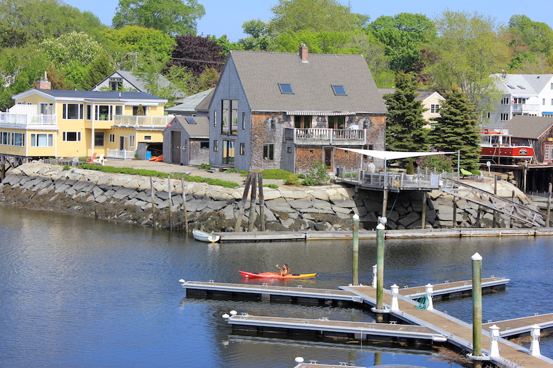 Kayaking the Kennebunk River in Kennebunkport Maine