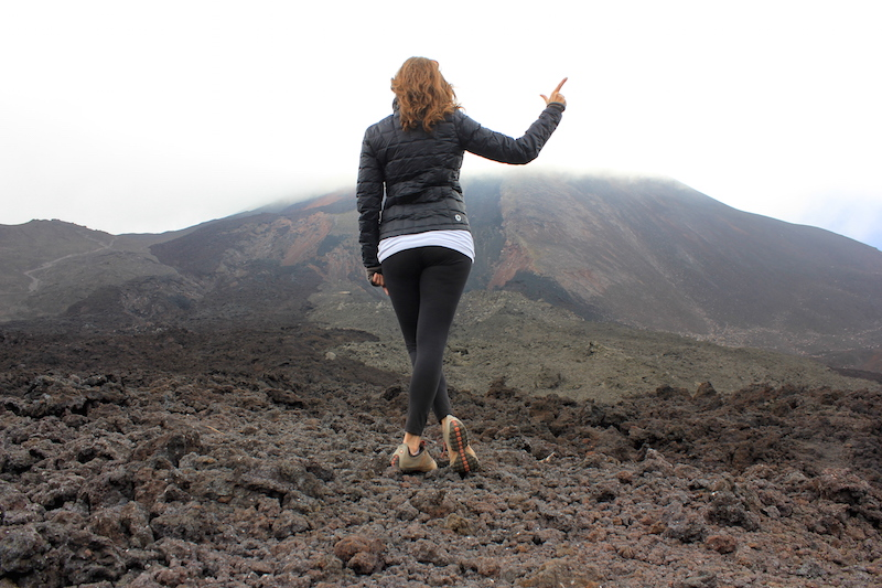 Annette's Bucket List Check at Pacaya Volcano Guatemala