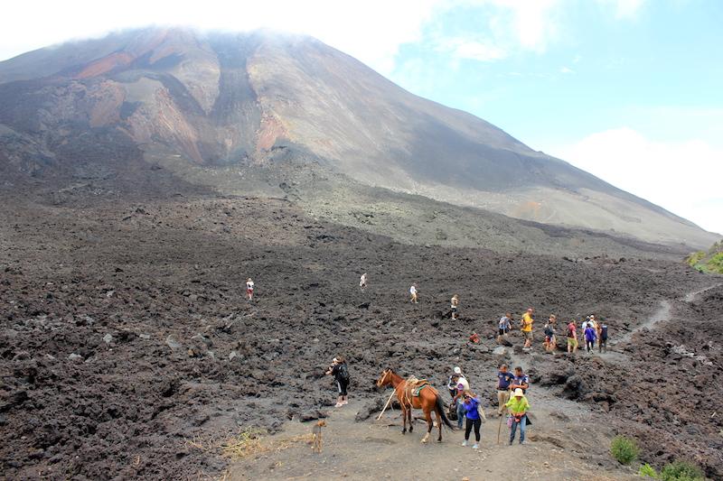 Lava Rock at Pacaya Volcano Guatemala