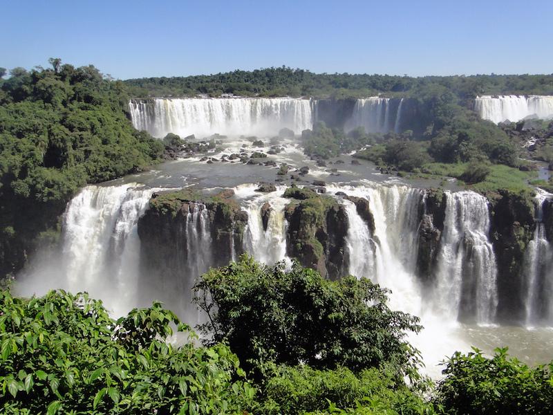 Iguassu Falls in Brazil