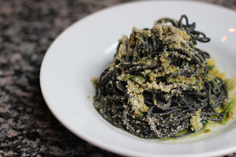 Squid Ink Pasta from Italy