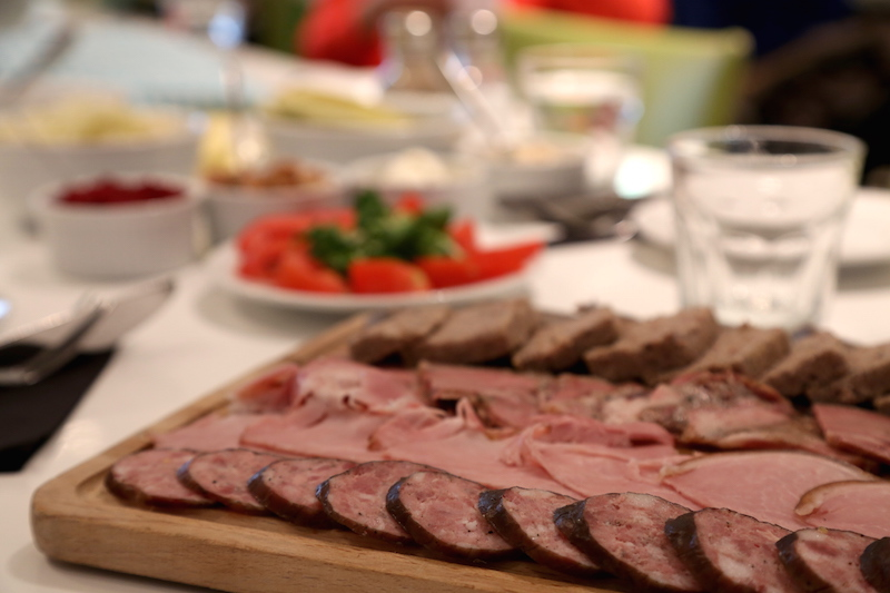 Charcuterie at a Polish Cooking Class in Warsaw