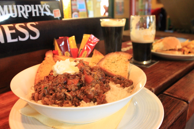Chili on the Dingle Pub Crawl Ireland