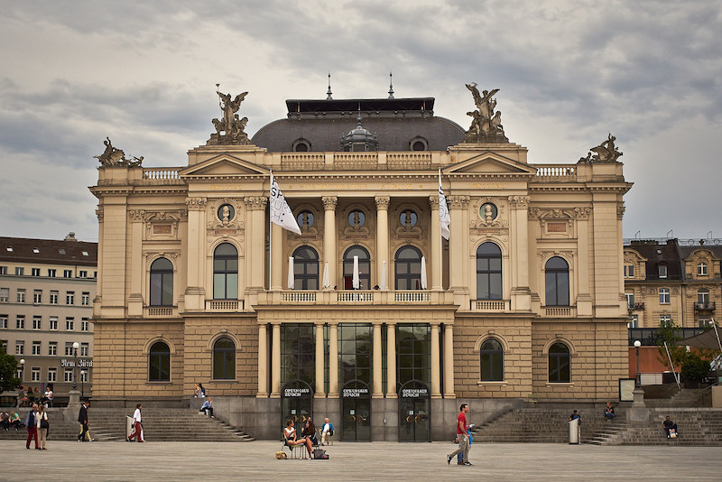 The Opera House in Zurich