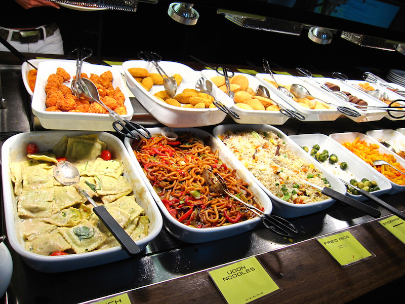 Hiltl Vegetarian Buffet in Zurich