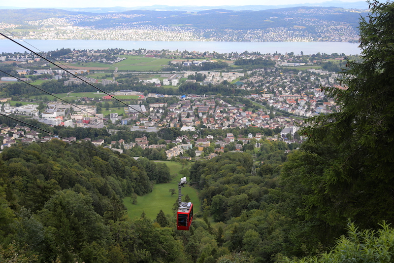 Zurich Things to Do: Ride a Cable Car
