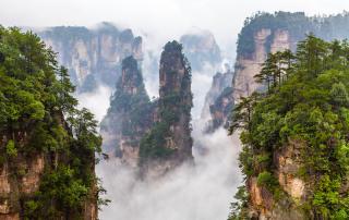 ZhangJiaJie National Forest in China