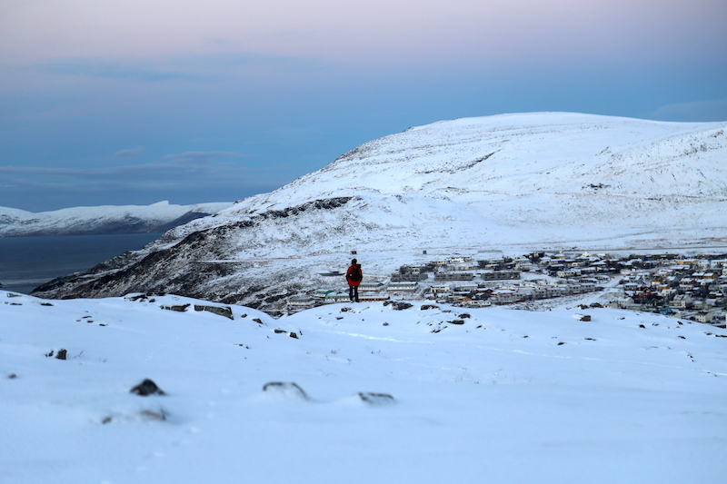 Snow Hiking with Hurtigruten in Hammerfest Norway