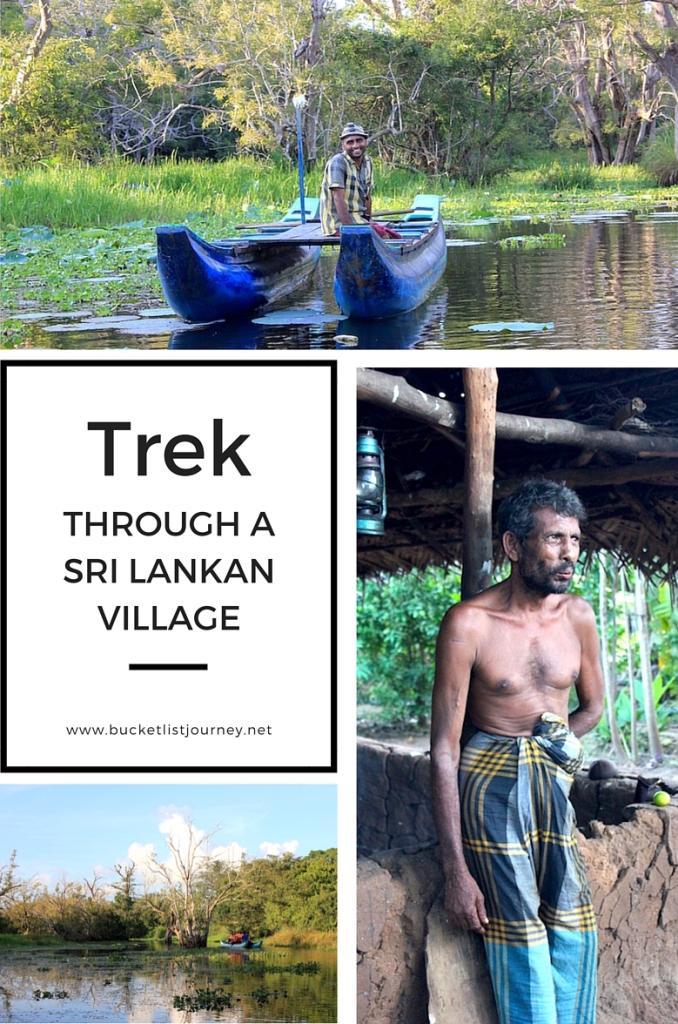 Trek Through a Sri Lankan Village