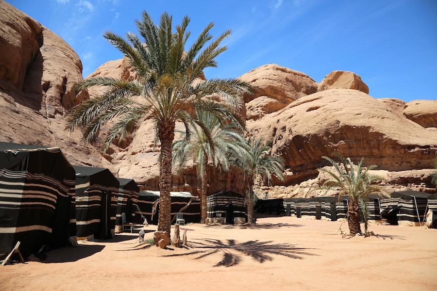 Wadi Rum Camp in Jordan
