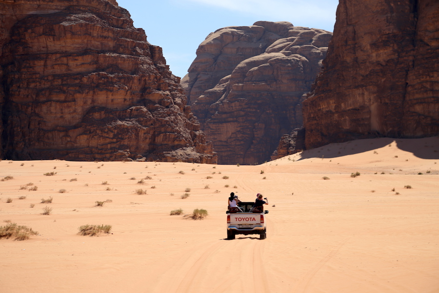 Wadi Rum Truck Safari in Jordan