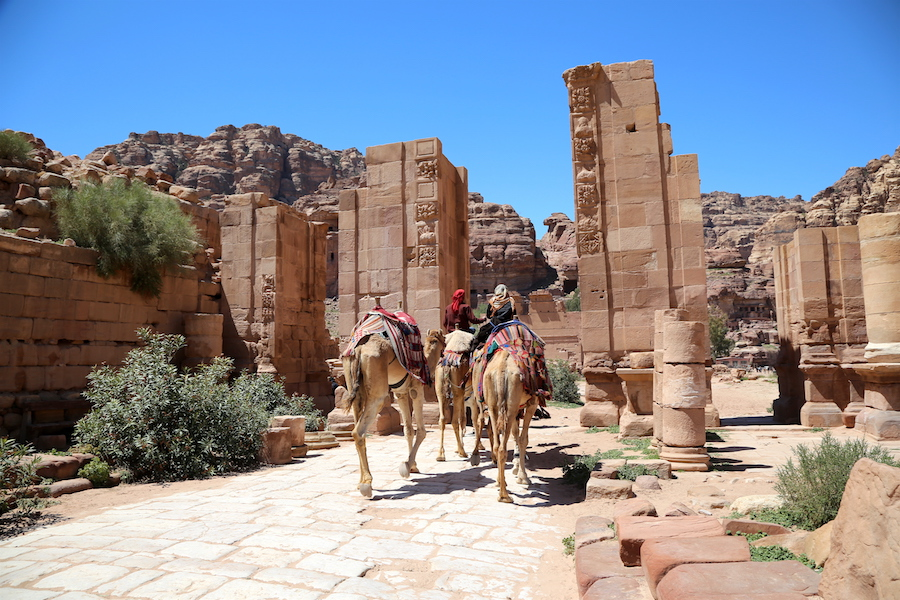 Petra Archaeological Site in Jordan