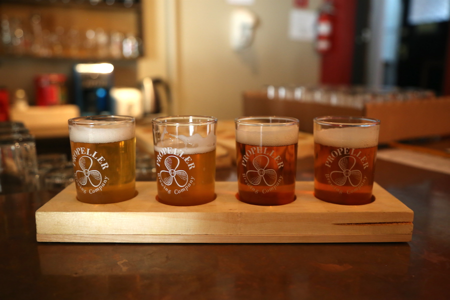 Propeller Beer Tasting in Halifax Nova Scotia