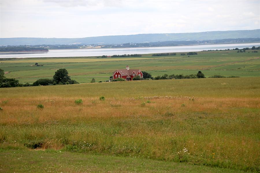 The Unesco World Heritage Landscape of the Grand Pre in Nova Scotia