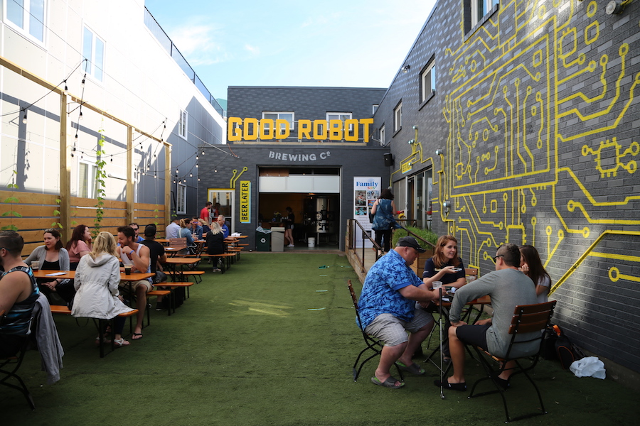 The Good Robot Brewing Company in Halifax Nova Scotia
