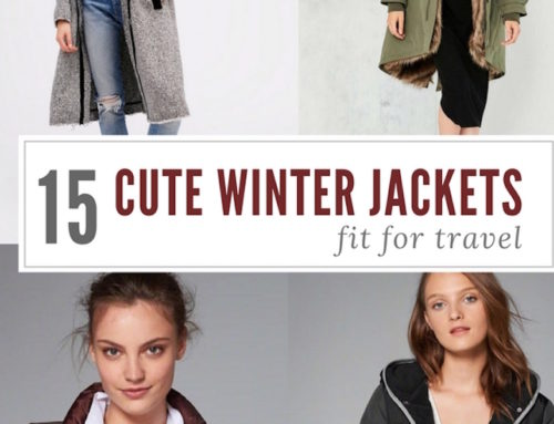 15 Cute Winter Jackets Fit for Travel