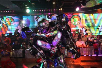 The Robot Restaurant Show in Tokyo Japan