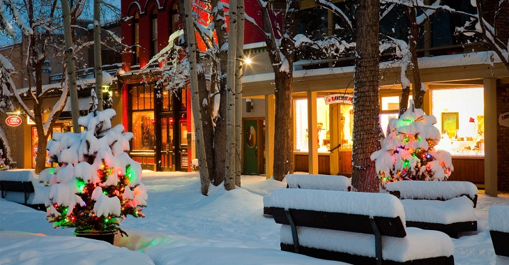 Holidays in Aspen Colorado