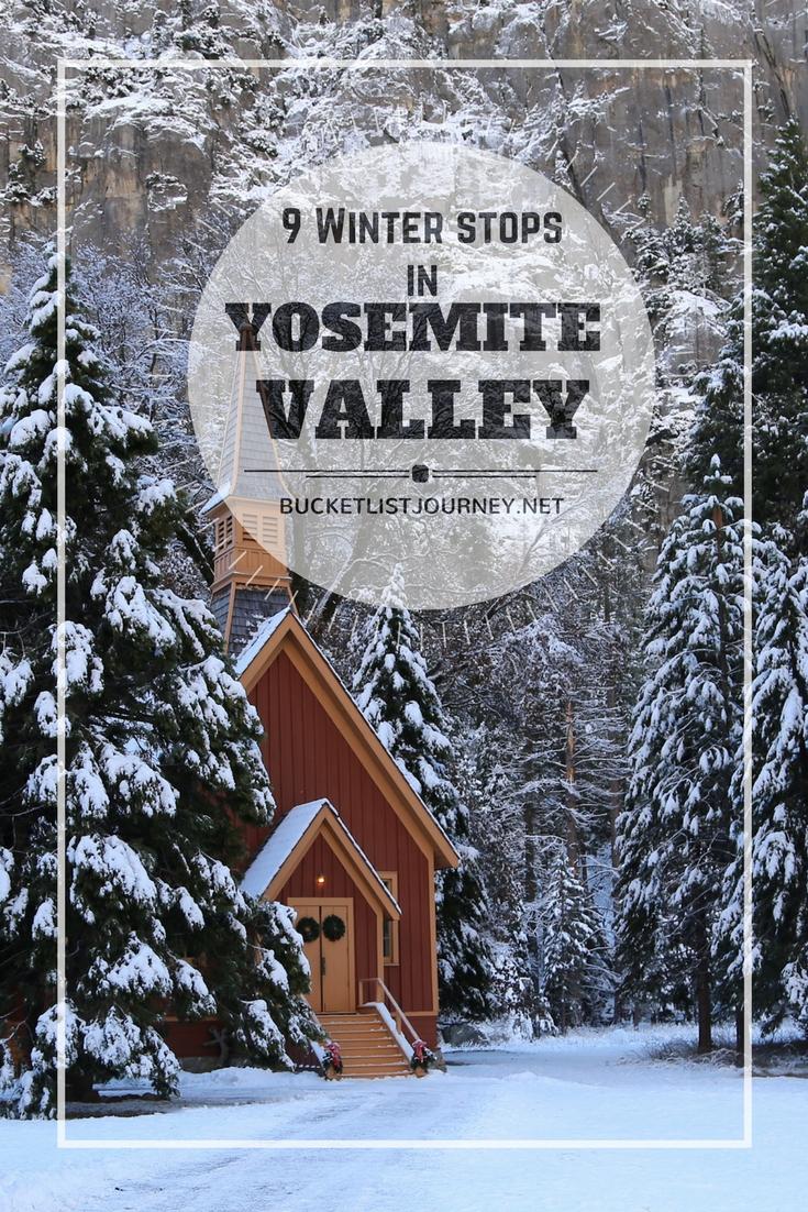 California Dreaming: 9 Incredible Winter Stops in Yosemite Valley