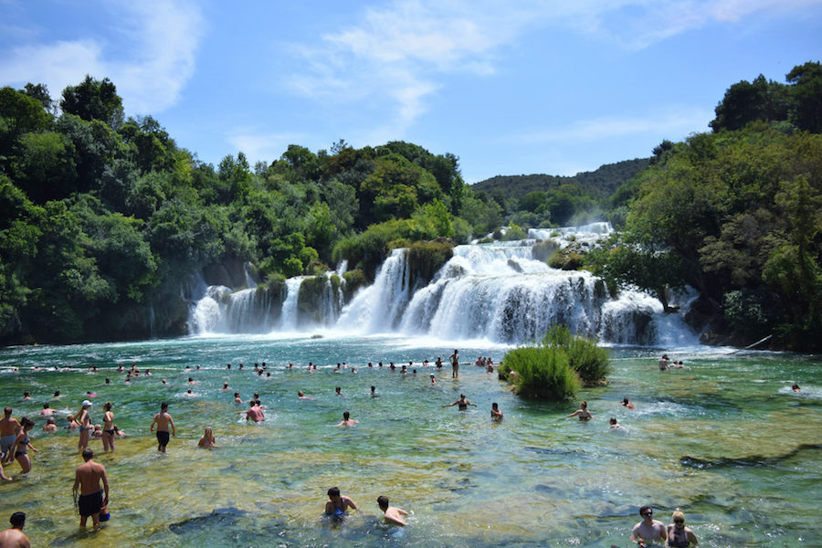 Krka in Croatia