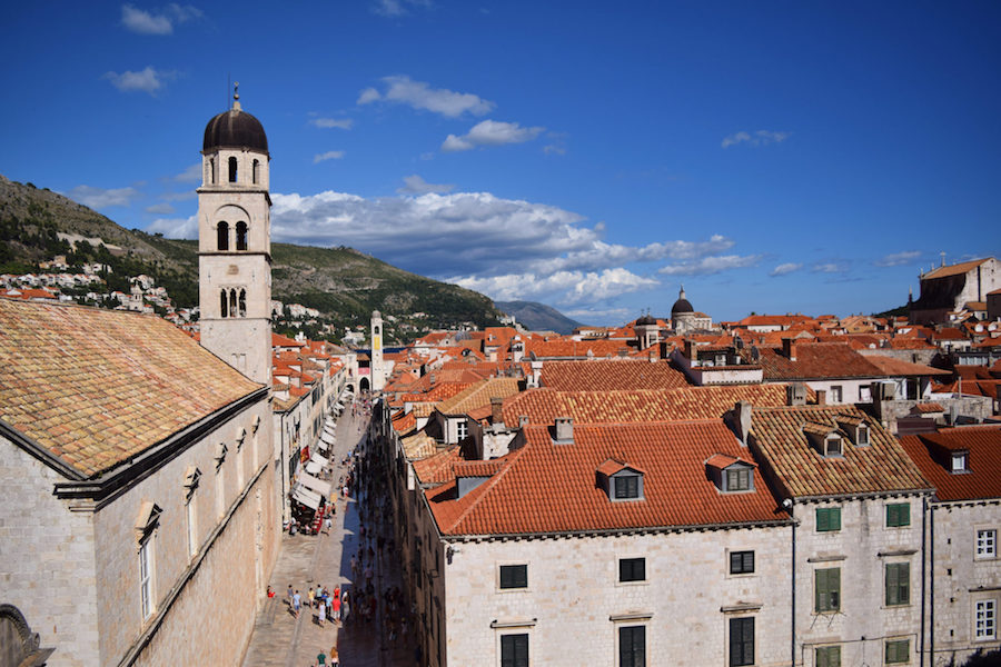 Old Town Dubrovnik in Croatia