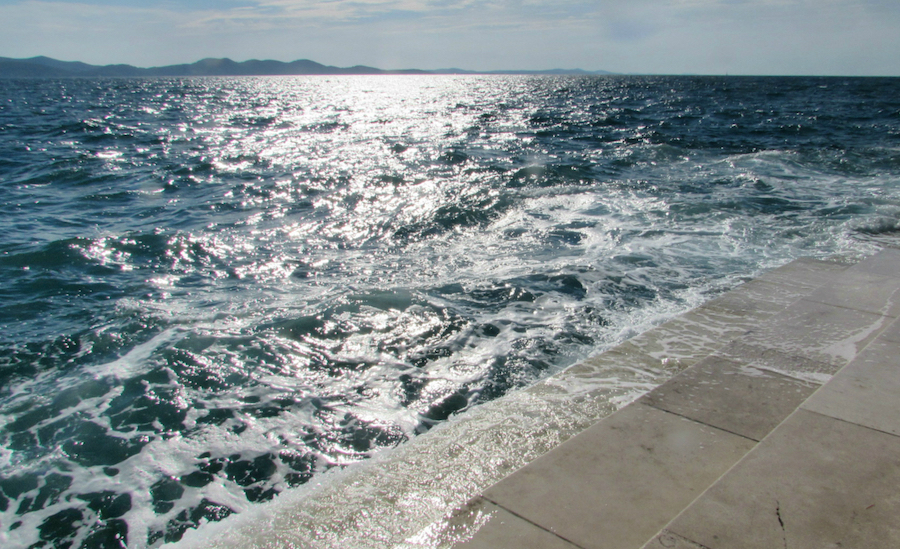 Zadar-Sea-Organ in Croatia