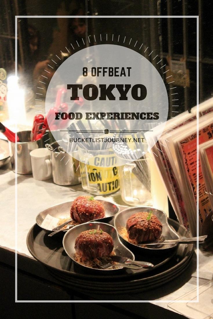 Tokyo: 8 Offbeat Food & Drink Experiences