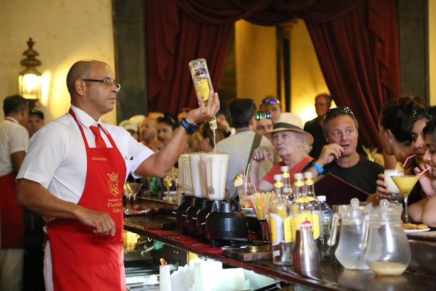 Bar Floridita in Havana Cuba