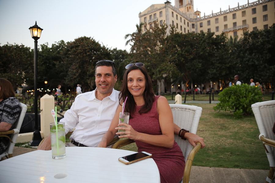 Peter & Annette Hotel Nacional in Havana Cuba