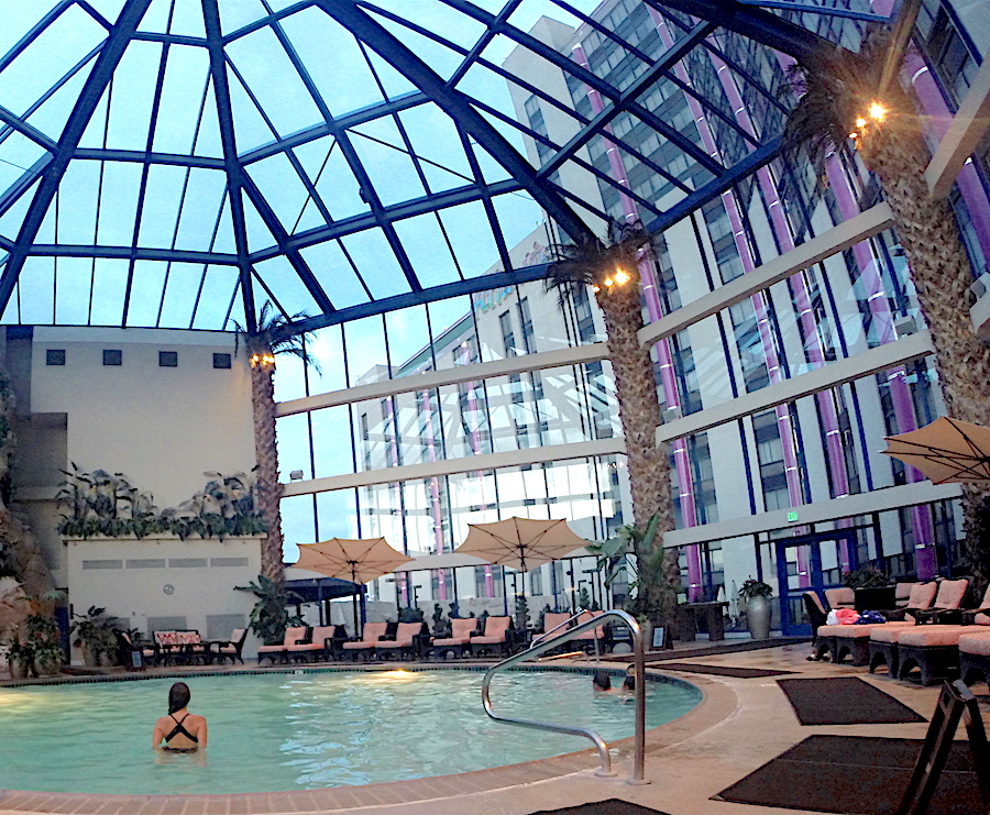 The Atrium Pool at the Atlantis Casino Resort Spa in Reno