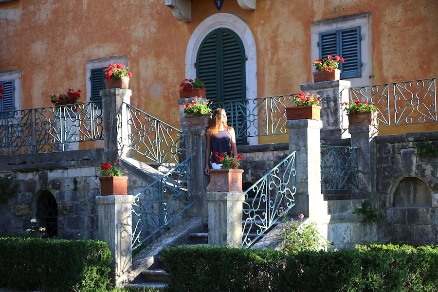 The hamlet at Montestigliano luxury villa estate in Tuscany