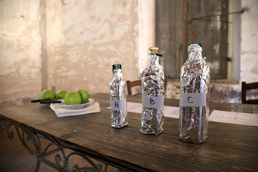 Olive Oil Tasting at Montestigliano luxury villa estate in Tuscany
