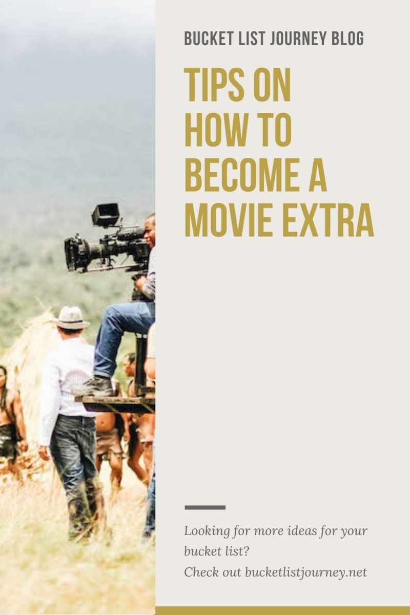 How to Be an Extra in a Movie & What to Expect as a Background Actor