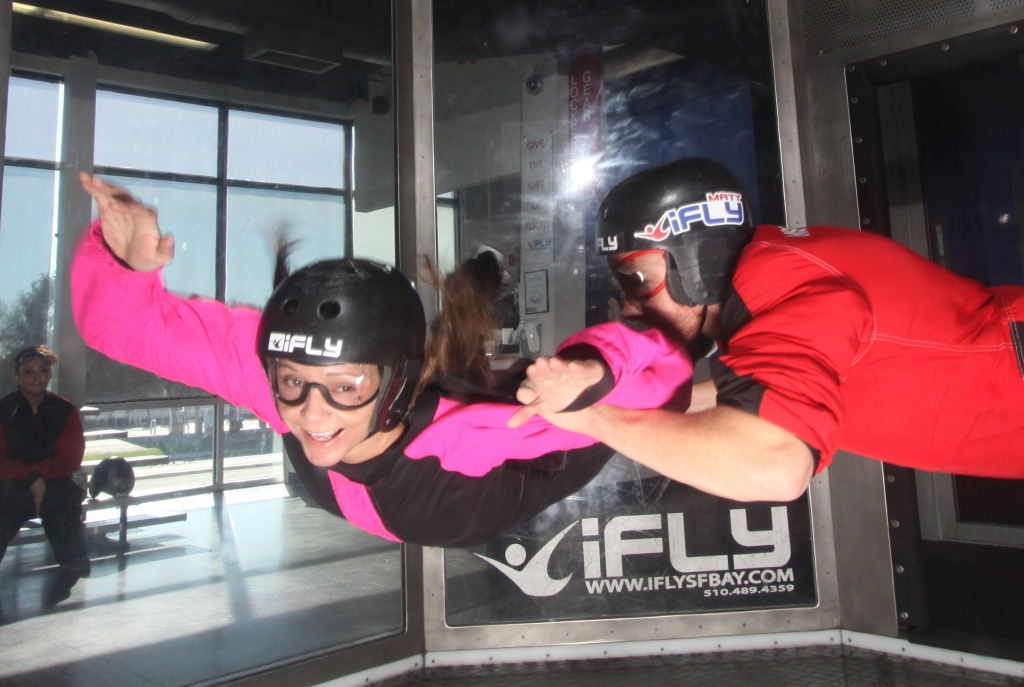 Annette White Indoor Skydiving