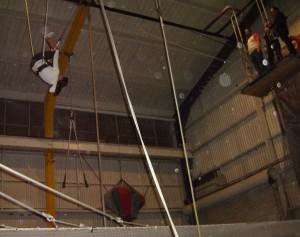 annette white trapezing