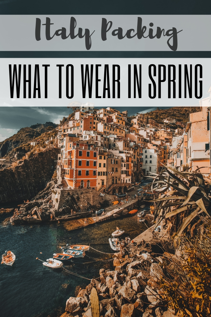 What to Wear to Italy in March (And What Not to Pack)
