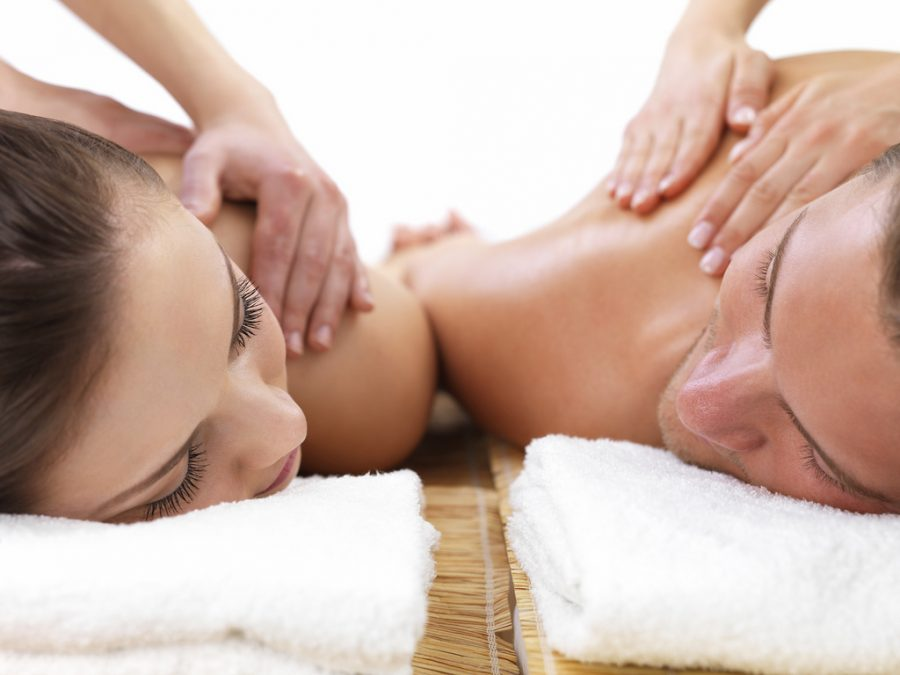 Romantic Couples Massage On Spa Holiday