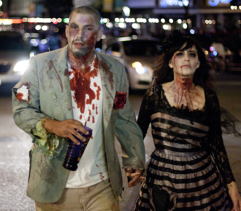 Couples Zombie Halloween Costume