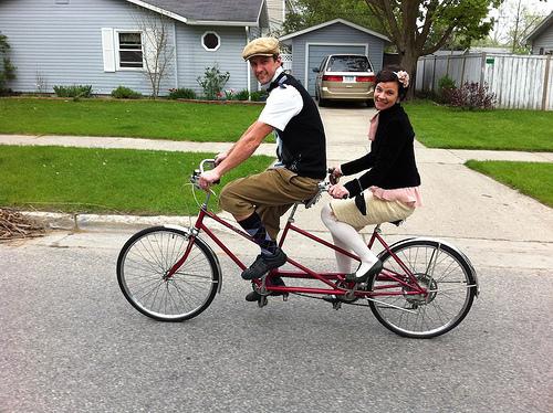 Couples Bucket List - Tandem Bike Ride