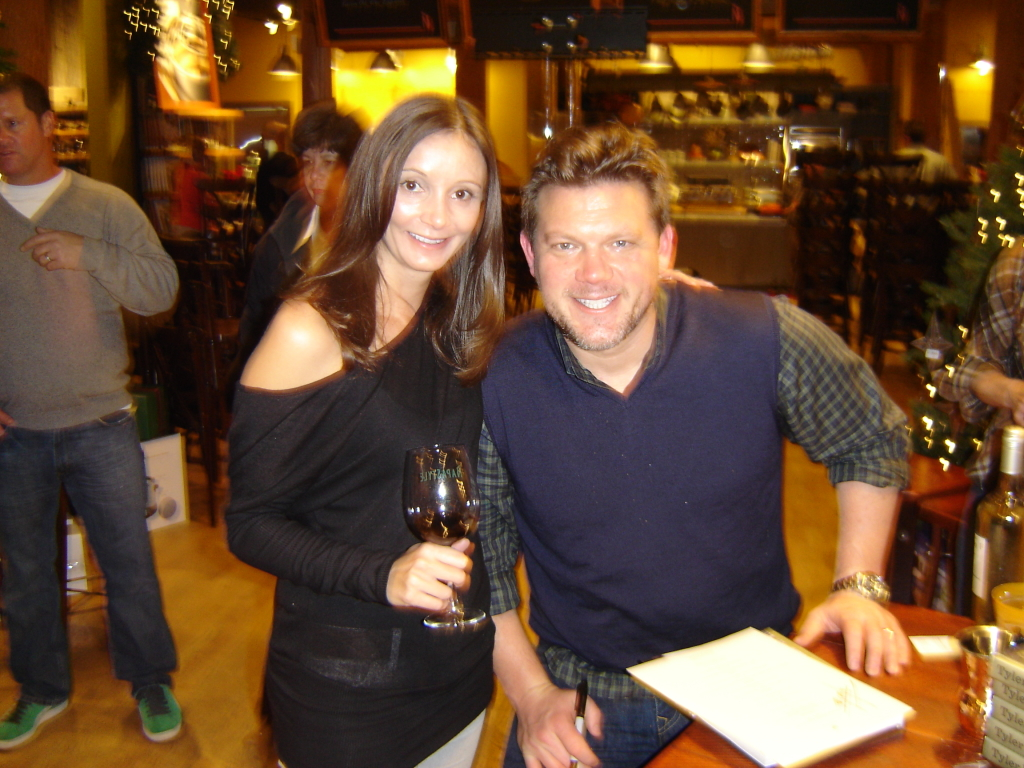 Annette White with Tyler Florence