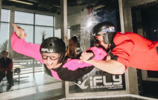 Annette White Indoor Skydive Experience: Weightlessness in a Wind Tunnel